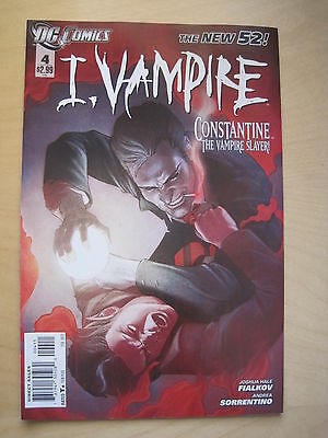 I, VAMPIRE 4. By Fialkov,Sorrentino. CONSTANTINE. HELLBLAZER. DC The NEW 52.2012