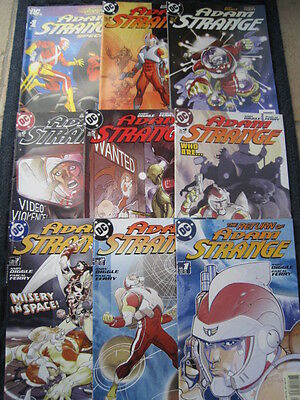 The Return of ADAM STRANGE - COMPLETE SET OF 8 + SPECIAL. DIGGLE & FERRY.DC.2004