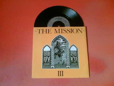 "THE MISSION Stay With Me 7"" Vinyl 45!"