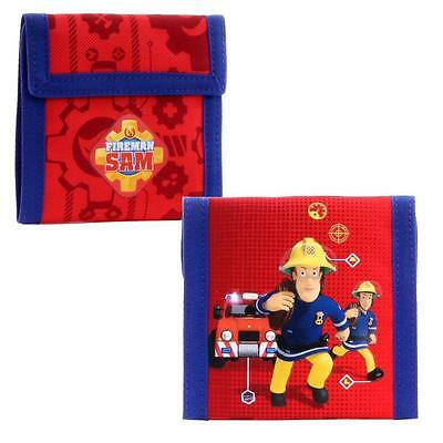 Sam El Bombero - Fireman Sam - Niños Monedero Cartera Emergency