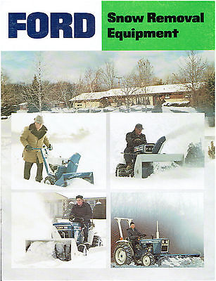 Ford Snow Removal Equipment Sales Brochure