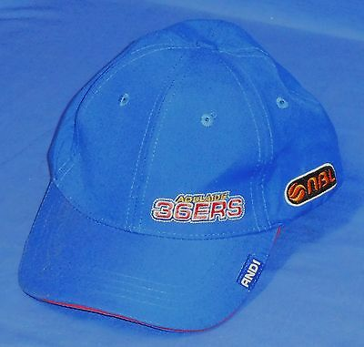 NEW Official NBL Adelaide 36ers  Basketball Cap Hat AND1 One Size fits all
