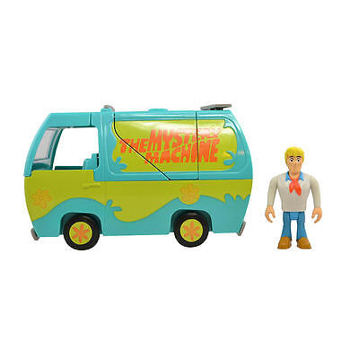 New Cartoon Network Scooby-Doo Transforming Mystery Machine & Collectible Figure