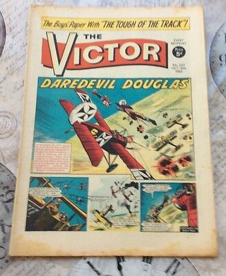 VICTOR Comic - Issue 245 - Date 30/10/1965 - UK Paper Comic