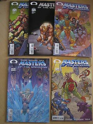 MASTERS of the UNIVERSE /HE MAn :COMPLETE 4 ISSUE SERIES + #4 VARIANT.IMAGE.2002