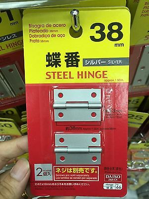 Japan Import Garden Woodworking DIY carpenter education  steel hinge 38mm