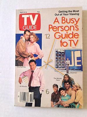 Tv Guide Magazine The Wonder Years Jeopardy! April 8-14 1989 021717RH