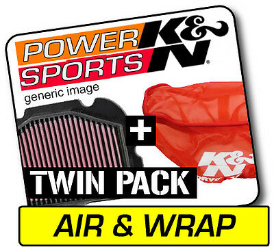 K&N Air Filter & Pre-Charger Wrap KYMCO KXR250 2004  KN #KY-2504
