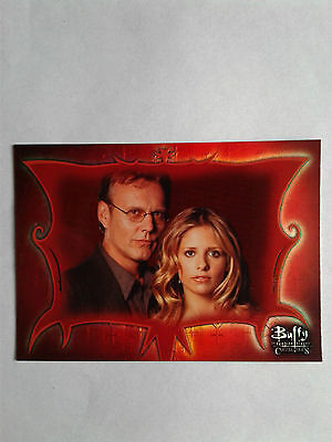 BUFFY THE VAMPIRE SLAYER Connections P-UK Promo trading card *MINT*