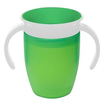 Munchkin Miracle 360 Trainer Cup (Green) 207ml Baby Sippy Cup