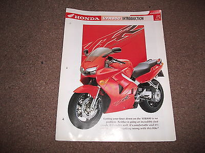 HONDA VFR800 the complete data file from essential superbike
