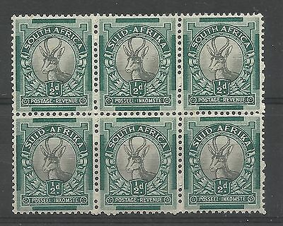 SOUTH AFRICA 1933-48 Coil ½d perf 13½x14, wmk upright, SG 54bw, unmounted mint b