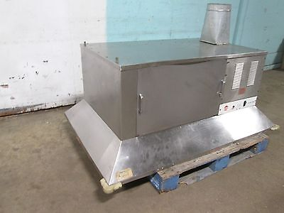 """""""giles Ph-Vh"""" Hd Commercial (Nsf) 62""""w Multi-Stage Filtration Oven Ventless Hood"""