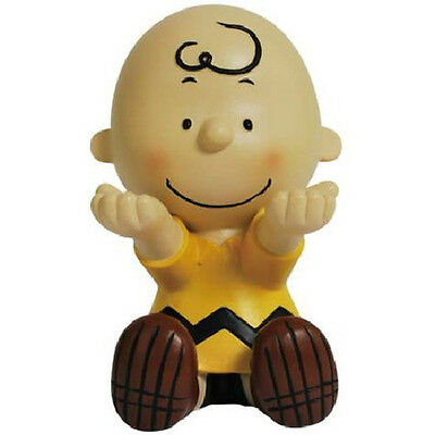 Peanuts Charlie Brown Sitting Ceramic Figurine Eyeglass Holder, NEW BOXED