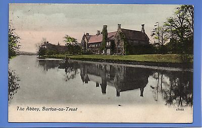 Rare 1911 The Abbey Burton-On-Trent Staffordshire Vintage Postcard