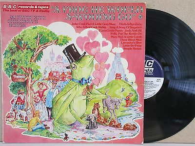 A Frog He Would A Wooing Go- BBC The Best of Childrens Vintage Songs LP (1971)