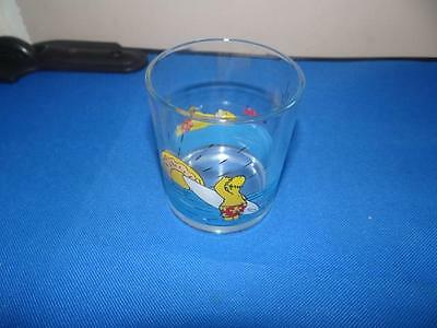 Nutella The Simpsons Homer Glass From 2000