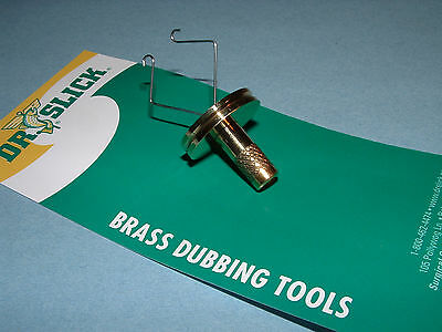 Dr. Slick Dubbing Twister 2 inch Brass Fly Tying Tool DTW