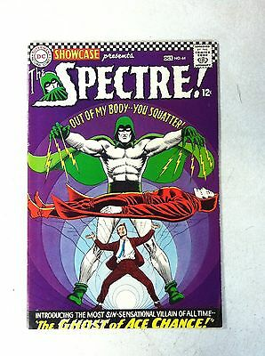 SHOWCASE #64 out of my body you squatter, 5th SPECTRE, 1966, ghost of ace chance