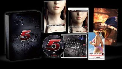 Dead Or Alive 5 - Collector's Edition [PlayStation 3 PS3, Fighting Action] NEW