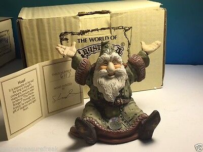 World Krystonia Figurine Dragon Statue Nib Coa 1901 Hapf Wizard Mirth Bringer Uk