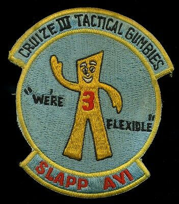 US Navy VP-47 CAC-3 Gumby Patch RP-3