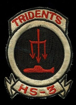 US Navy HS-3 Tridents Patch RP-3