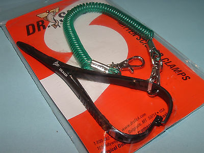 Dr Slick 4 3/4 inch Mitten Scissor Clamps Black Straight Fly Fishing CMS47B 2017