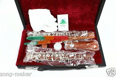 new oboe Nice Sound C key rosewood Body 3rd Octave left F Profession #OB5