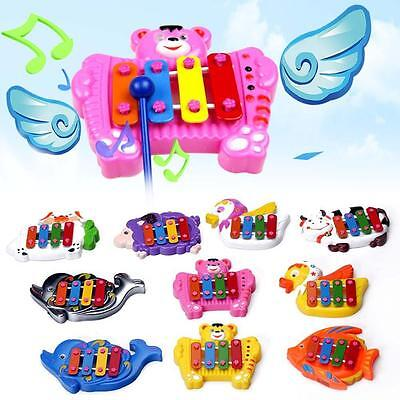 Kid Baby Child Musical Educational Animal Developmental Music 4 Tone Bell Toy SS