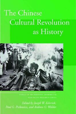 The Chinese Cultural Revolution as History (English) Hardcover Book Free Shippin