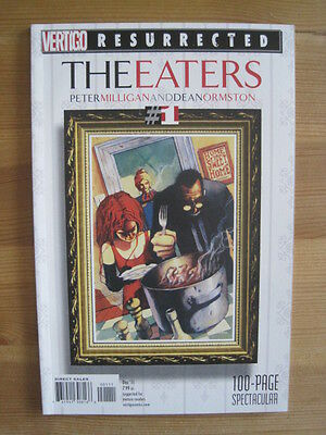 The EATERS. 100 page ONE-SHOT by MILLIGAN & ORMSTON. VERTIGO RESURRECTED. 2011