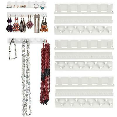 Jewelry Wall Mount Organizer Hanging Earring Holder Necklace DiSSlay Rack  SS