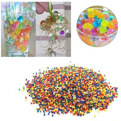 10X 1000pcs Water Balls Crystal Pearls Gel Bead for Orbeez Toy Refill Color Zp