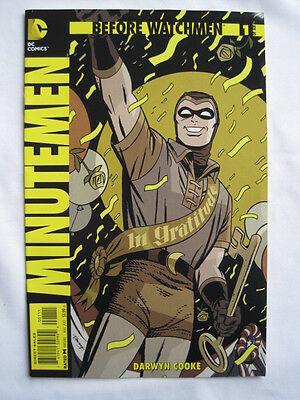 BEFORE WATCHMEN  : MINUTEMEN   #s 1,2,3,4.   DC COMICS. 2012.