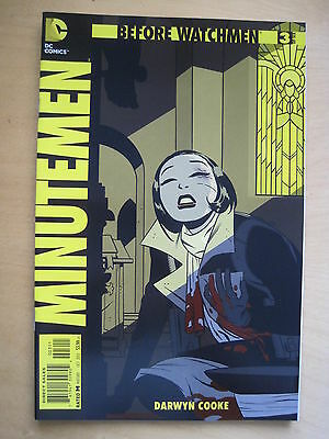 Before Watchmen  : Minutemen   # 3.   Dc Comics. 2012.