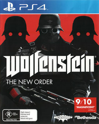 Wolfenstein The New Order PS4 Sony Playstation 4 PAL