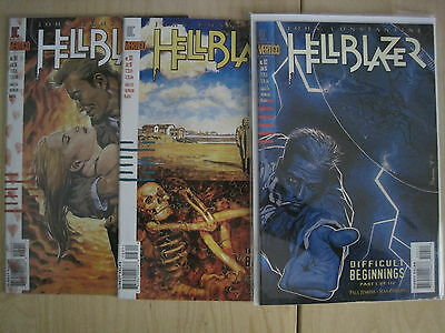 "Hellblazer  67,68,69  ""difficult Beginnings"", Complete 3 Part Story.1996.vertigo"