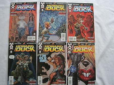 Howard The Duck :complete 6 Issue Series.gerber.explicit Content.marvel Max.2002