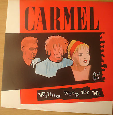 Carmel - Willow Weep For Me Extended Mix - Mint Vinyl London 12""