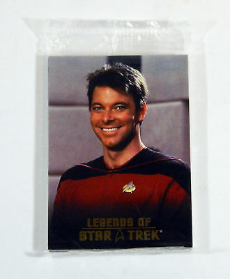 2006 Rittenhouse Legends of Star Trek 8 Commander William Riker Sealed Set /1701