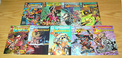 Warstrike #1-7 VF/NM complete series + variant + giant-size - mantra spin-off