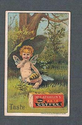 Original 1900's Chicago McLaughlin's & Co. Coffee Advertising Trade Card