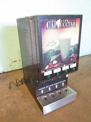 """cecilware- Gb4M-Ld"" Hd Commercial 4 Flavors Cappuccino/hot Beverage Dispenser"