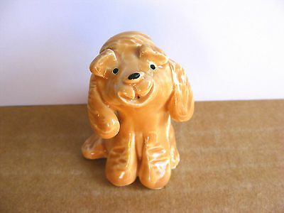Little Guys Labradoodle Dog Miniature Animal Figurine Cindy Pacileo Pottery