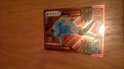 Match Attax 2015/16 Trading Card Raheem Sterling Bronze Limited Edition