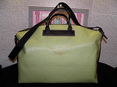 DOONEY & BOURKE Green X-Large Overnight/Weekend Domed Carry-On Bag - USED