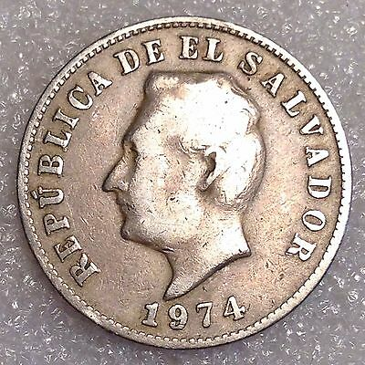 5 Centavos 1974 (Copper-Nickel) El Salvador