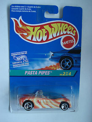 HOT WHEELS PASTA PIPES CAR. SCALE: 1:64 MOC 1996  # 2 of 4.