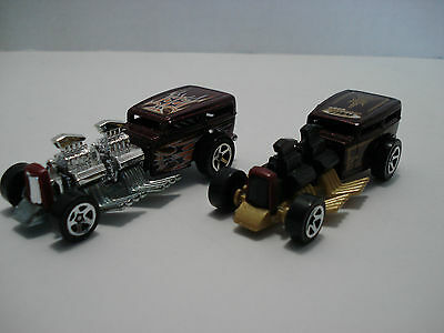 Hot Wheels Lot Of 2 Dragters Racing Cars Scale:1:64